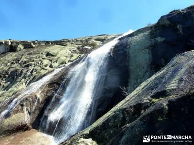Cascadas de La Granja - Chorro Grande y Chorro Chico; grupo senderos;senderismo alcobendas